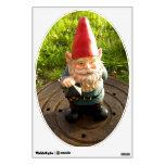 Manhole Gnome Room Decal