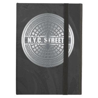 Manhole NYC iPad Air Cover