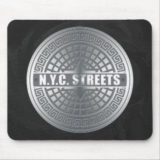 Manhole NYC Mouse Pad