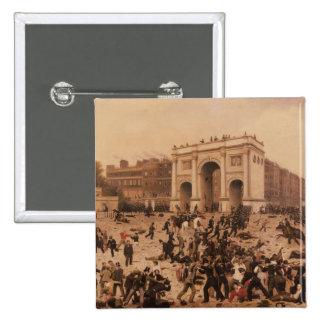 Manhood Suffrage Riots in Hyde Park, 1866 Button