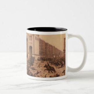Manhood Suffrage Riots in Hyde Park 1866 Coffee Mug
