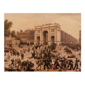 Manhood Suffrage Riots in Hyde Park, 1866 Postcard