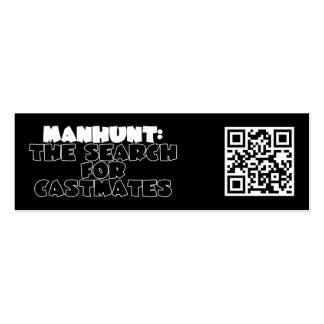 Manhunt: The Search for Castmates Business Card Template