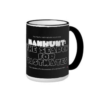 Manhunt: The Search for Castmates Ringer Mug