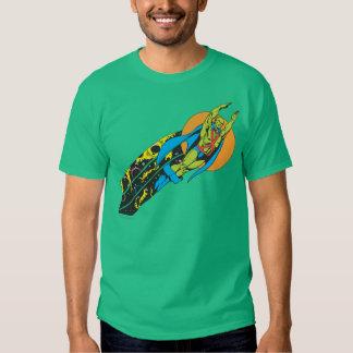 Manhunter marciano toma vuelo camisas