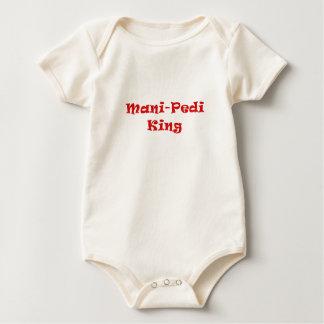 Mani Pedi King Baby Bodysuit