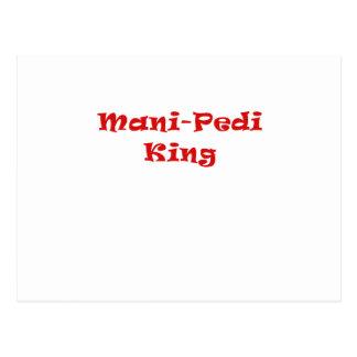 Mani Pedi King Postcard