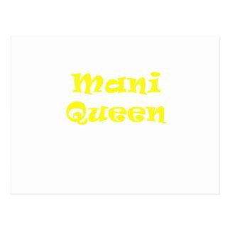 Mani Queen Postcard