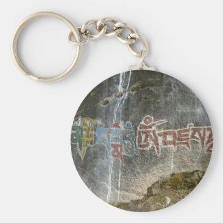 Mani stone - Om Mani Padme Hum Mantra Keychain