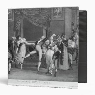 """Manía de la danza, 1809 carpeta 1 1/2"""""""