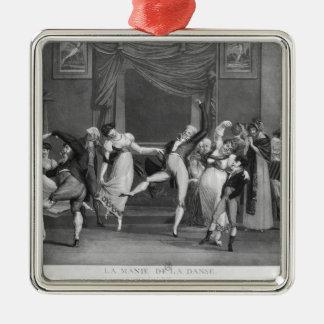 Manía de la danza, 1809 adornos