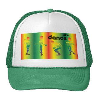Manía de la danza gorro