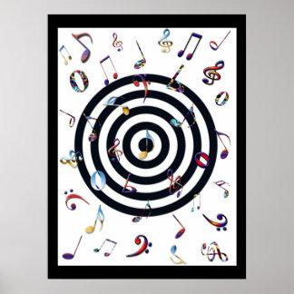 Manía de la música - poster