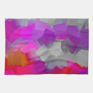 Manía del cubo del color toalla