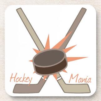 Manía del hockey posavasos