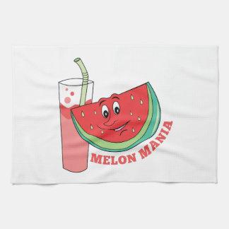 Manía del melón toalla