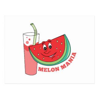 Manía del melón postal