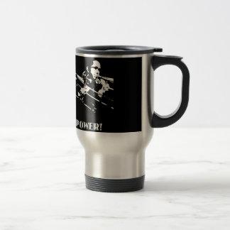 Maniacal 4 stainless steel travel mug
