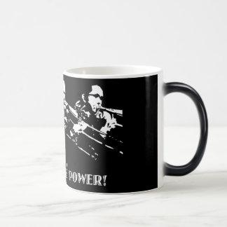 Maniacal 4 morphing mug