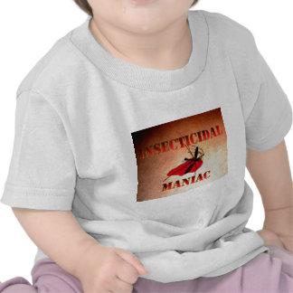 Maniaco insecticida (color) camisetas