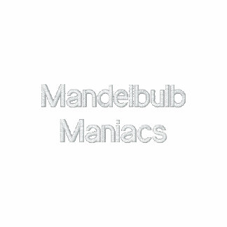 Maniacs Embroidered Zipper Hoody
