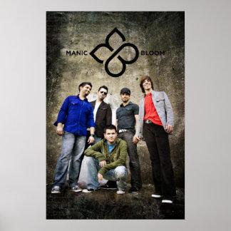 Manic Bloom Poster for Joe