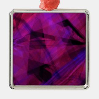 Manic colors metal ornament