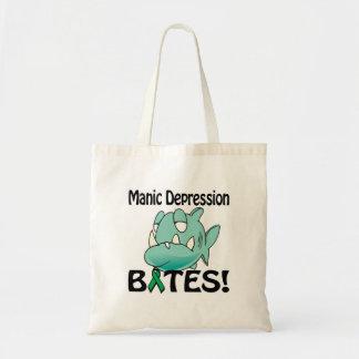 Manic Depression BITES Budget Tote Bag