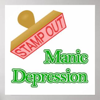Manic Depression Poster