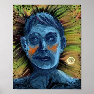 Manic Depressive - 8x10 Digital Art Poster Print