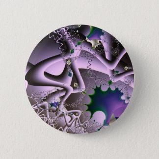 Manic Episodes - Fractal Art Pinback Button
