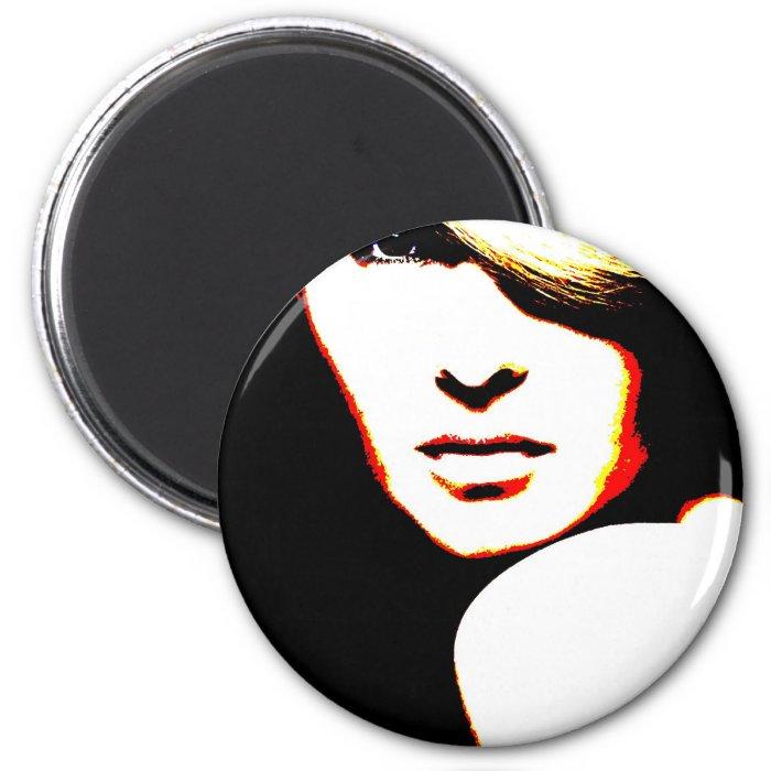 Manic Kin 1 2 Inch Round Magnet