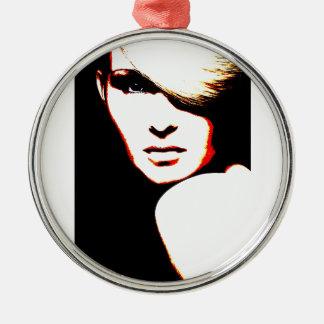 Manic Kin 1 Metal Ornament