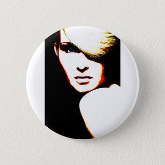 Manic Kin 1 Pinback Button