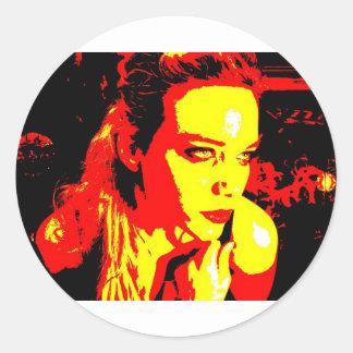 Manic Kin 2 Classic Round Sticker
