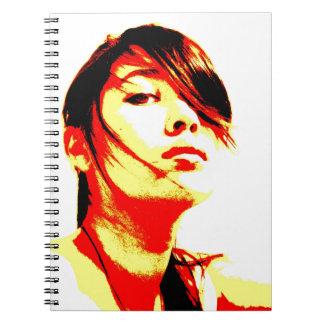 Manic Kin 3 Spiral Note Book