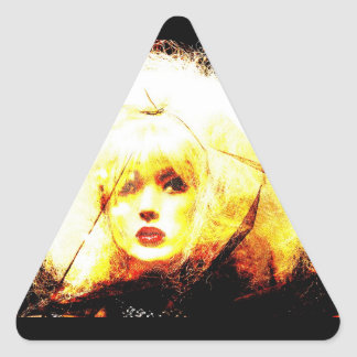 Manic Kin 4 Triangle Sticker