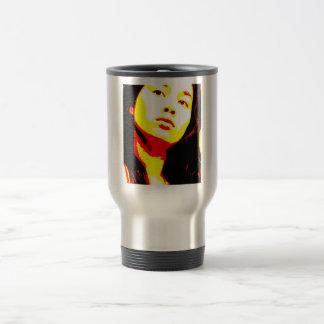 Manic Kin 6 15 Oz Stainless Steel Travel Mug