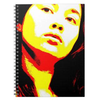 Manic Kin 6 Note Book