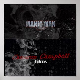Manic Man Image 1 CCF Image 1 Print