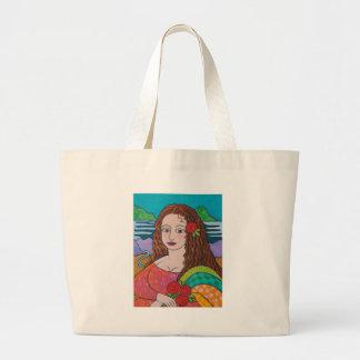 Manic Mona Jumbo Tote Bag