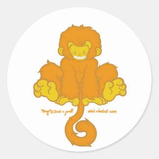 Manic Mongo Sticker 2