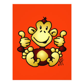 Manic Monkey Personalized Flyer