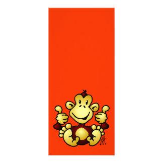 Manic Monkey Rack Card