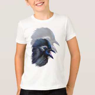 Manic Raven shadowed  T-Shirt