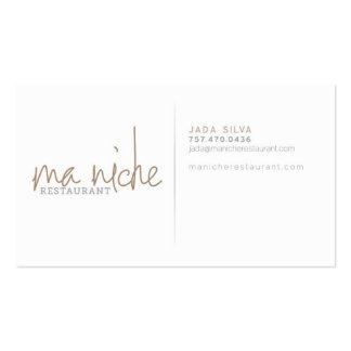 MaNiche - Jada Business Card Templates