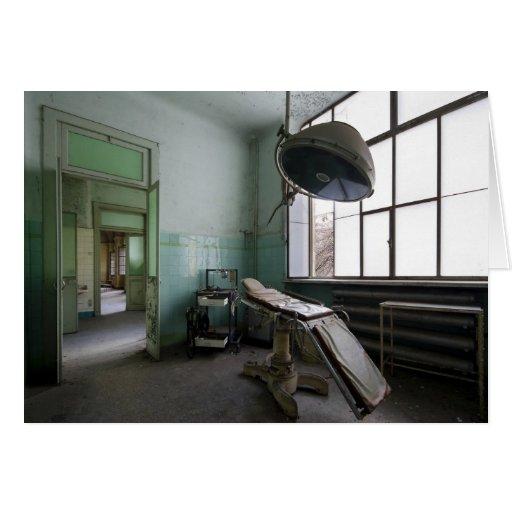 Manicomio Krankenzimmer 2 Tarjeta