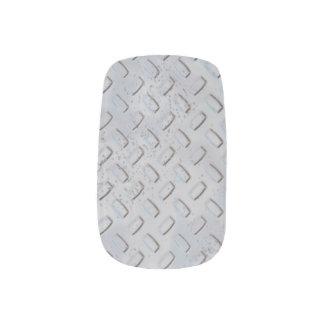 Manicura de acero del modelo de la placa del pegatinas para manicura