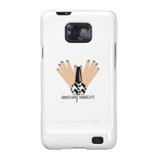 Manicura de Amoosing Samsung Galaxy SII Carcasas