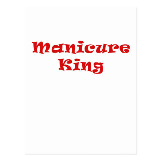 Manicure King Postcard